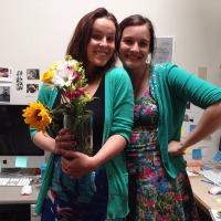 Jess and caitlin grad school